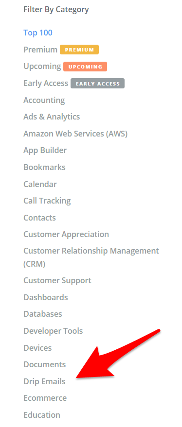 Web App Categories